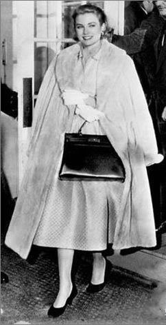 Grace Kelly with Kelly bag